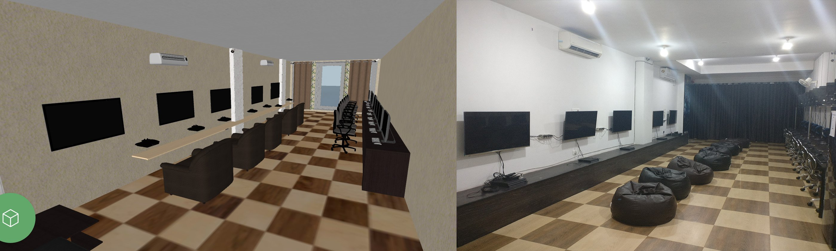 Panner 5D and Real Project